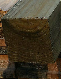 100x100 H4 Sawn Treated Pine Post 3.6