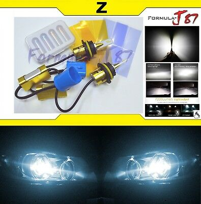 LED Kit Z 96W 9004 HB1 6000K White Head Light Two Bulbs Dual Beam Upgrade Lamp