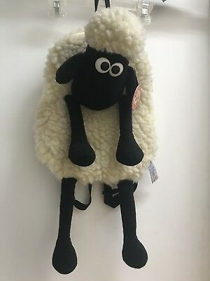 Vintage Wallace and Gromit Plush Sheep Backpack~ RARE