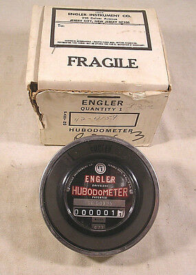 Vintage NOS ENGLER HUBODOMETER - 16:00 X 25 - 977 - NEW IN BOX