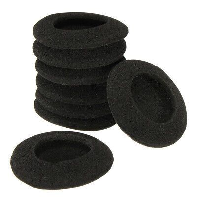 4 Pairs 60mm 2.35'' Headset Headphone Earphone Soft Foam Sponge Ear Pads Cover