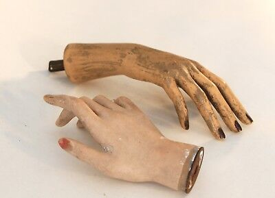 1930s French Mannequin Hands (a pair)