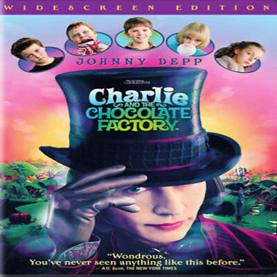 Charlie and the Chocolate Factory Widescreen Edition Brand New & Sealed DVD