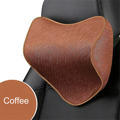 Auto Car Seat Headrest Pad Memory Foam Pillow Head Neck Rest Support Cushion