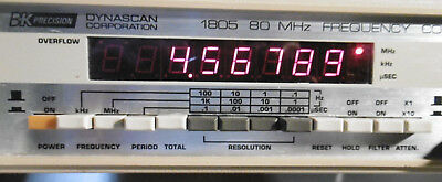 B&K Precision model 1805 80MHz Frequency Counter