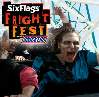 Six Flags Over Texas  Fright Fest Tickets $36 A Promo Discount Savings Tool