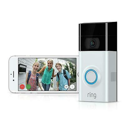 Ring Wi-Fi Enabled Video Doorbell With Chime Pro Home Security Doorbell New