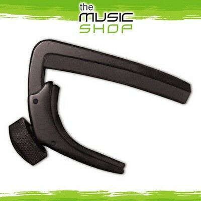 New D'Addario Planet Waves NS Drop Tune Guitar Capo - Black - CP-06
