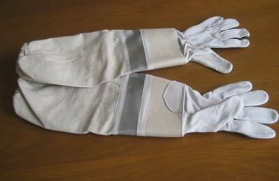 Beekeeping Bee Gloves  Leather White Small Size Adult