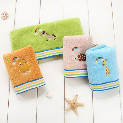 Soft Baby Newborn Infant Boy Girl Bath Towels Washcloth Wipe Burp Cloth WE3