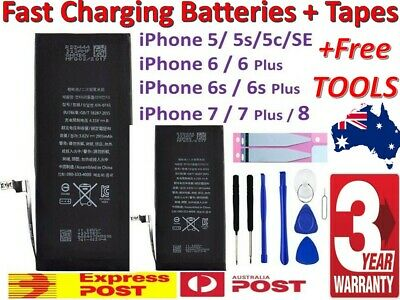 For iPhone 8 / 7 / 6s / 6 Plus 5 Brand NEW OEM Battery Replacement FULL Capacity