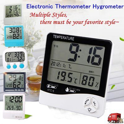 LCD Digital Electronic Thermometers Hygrometer Temperature Humidity Meter Cl GP