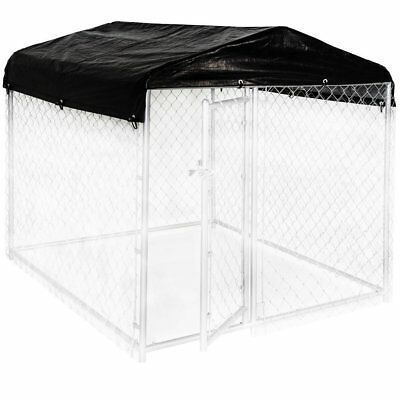 Lucky Dog Weatherguard 5'W x 5'L Kennel Frame and waterproof Cover Set New Home