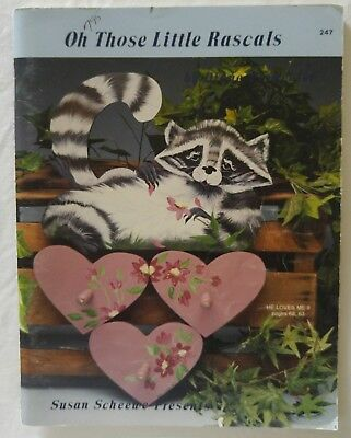 Decorative Painting Pattern Book OH THOSE LITTLE RASCALS by Diane Permenter