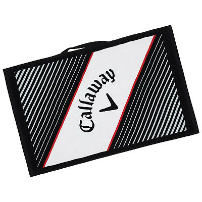 "Callaway Golf Cotton Cart Bag Towel - New Performance 16"" x 24"" Soft Absorbent"