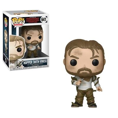 Stranger Things 2nd Season Hopper with Vines POP! Figure Toy #641 FUNKO NEW MIB