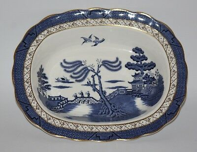 """Royal Doulton - Booths Real Old Willow, TC 1126 - 10 1/4"""" Oval Vegetable Bowl"""