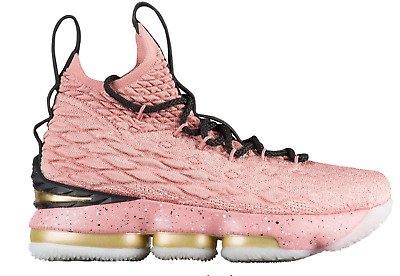 6a3149091e1 Brand New Nike Lebron James XV LMTD GS Hollywood Rust Pink 943762-600 Youth  2018