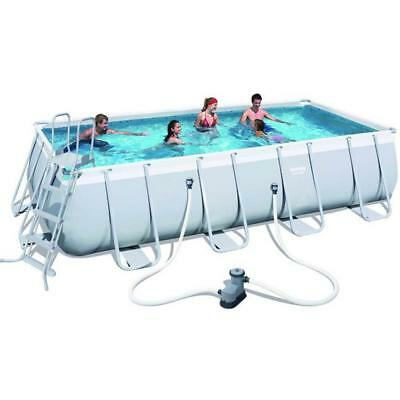 Piscina Bestway Power Steel 56465 Rettangolare 549X274 Cm