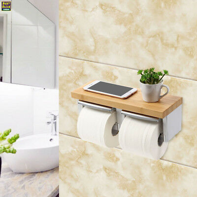 meibei porte papier toilette mural avec etag re d rouleur papier eur 66 81 picclick fr. Black Bedroom Furniture Sets. Home Design Ideas