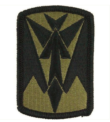 EMBROIDERED ON OCP PAIR GENUINE US ARMY PATCH US ARMY TRIAL DEFENSE SERVICE