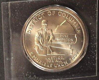 2009 P Washington DC ~ District of Columbia Satin Quarter VERY LOW MINTAGE