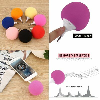 Portable Music Sponge Ball 3.5mm Mini Speaker For MP3/MP4/Mobile phone/Tablet GQ