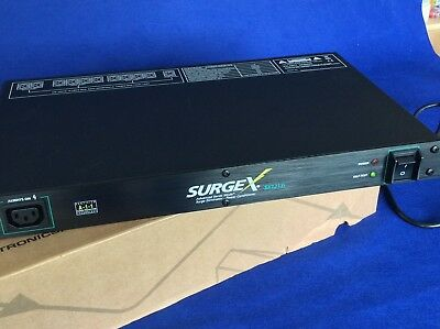 SurgeX Power conditioner and surge protector SX1213i