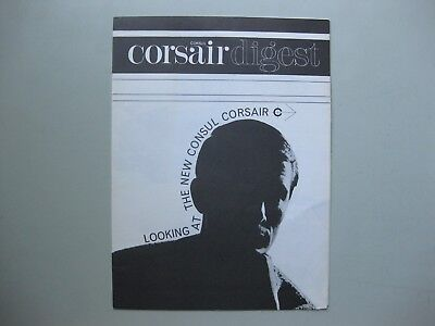 Ford Corsair folder brochure Prospekt text English 1963 8 pages