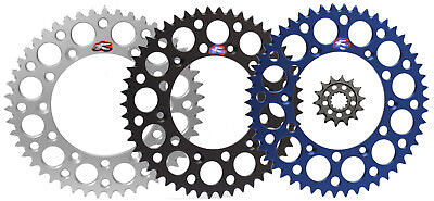 YZ450F Yamaha WR450F Renthal Grooved Front /& Ultralight Rear Sprockets Kit 14//48 BLUE