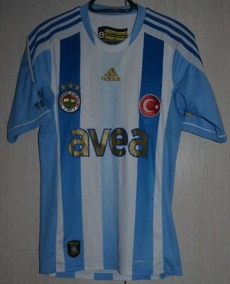 S Size Fenerbahce Turkey 2011/2012 Away Football Shirt Jersey Trikot Adidas