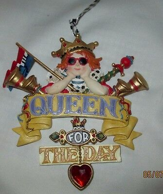 """MARY ENGELBREIT """"QUEEN FOR THE DAY"""" ORNAMENT 5""""x 5"""""""