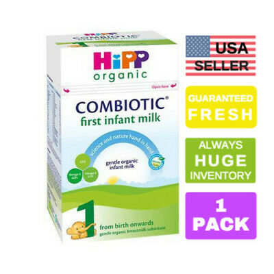 1 HiPP Combiotic UK Stage 1 First Infant Organic Formula, 800g, 0-6 months, PRIO