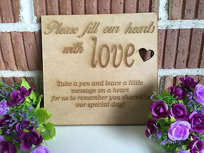 Wedding Drop Box Matching Sign-Sign Only Letting Guests Know What To Do