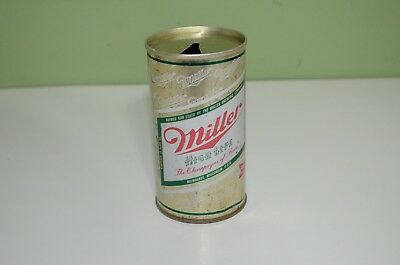 Miller high life beer can empty