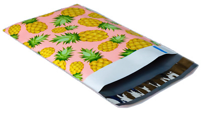 Pineapple Poly Mailers 6x9, 100 Pack