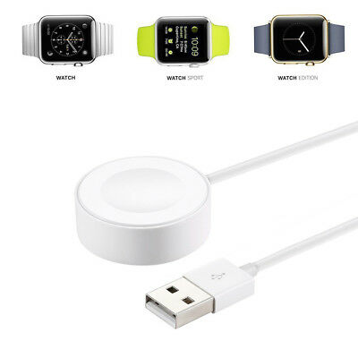 For 38mm 42mm Apple Watch 2 3 Edition iWatch Magnetic Charger Charging Cable