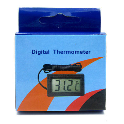 hot Digital LCD Fish Tank Aquarium Thermometer -50℃-110℃ With Waterproof Probe