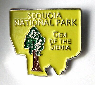 Sequoia National Park Lapel Pin Badge 1 Inch