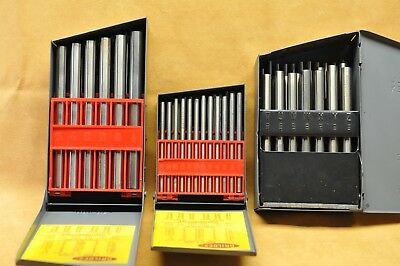 HUTCHINSON – HSS Drill Blank Set ( 3 boxes ) MADE IN USA