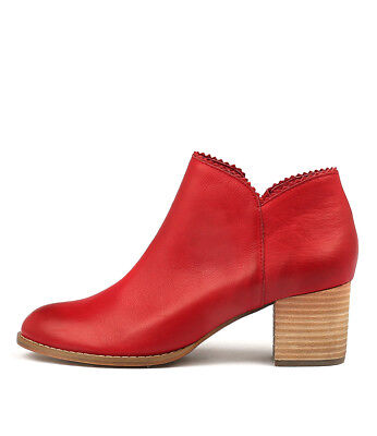 New Django & Juliette Sharon Red Womens Shoes Casual Boots Ankle
