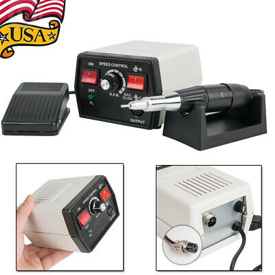 35K RPM Dental Lab Micromotor Control Unit Handpiece Polisher Non stage speed-US