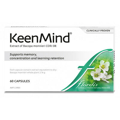 Floradis KEENMIND 60 Capsules ::Supports memory, concentration and learning::