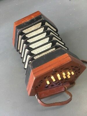 Lachenal Concertina 175949 Early 1900's
