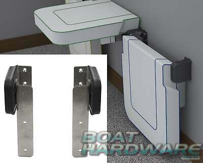 Folding Hinge Seat Table Bench Boat RV Marine Stainless Steel 180kg Heavy Duty