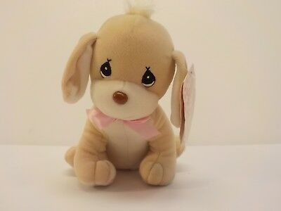 Enesco Precious Moments TIPPY Puppy Dog Bean Bag Plush Tender Tails New Tags NWT
