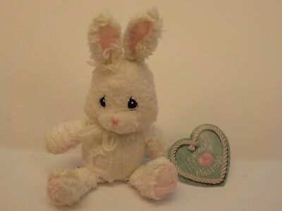 Enesco Precious Moments Delicate Blessings BUNNY Bean Bag Plush New Tags NWT
