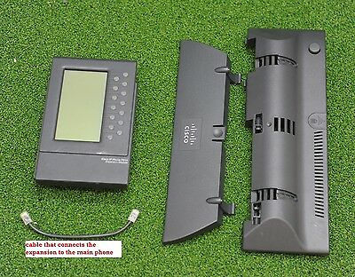CISCO CP-7914 IP Phone Expansion Module with Cisco CP-SINGLFOOTSTAND - 1 Y WTY