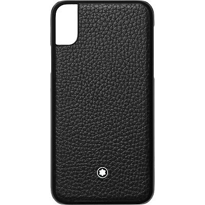 Montblanc Hardphone Case Black für iPhone X, 119110, NEU&OVP