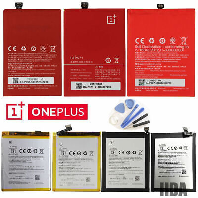 OEM Original OnePlus Battery replacement For OnePlus 3/2/1/X /3T with Tools